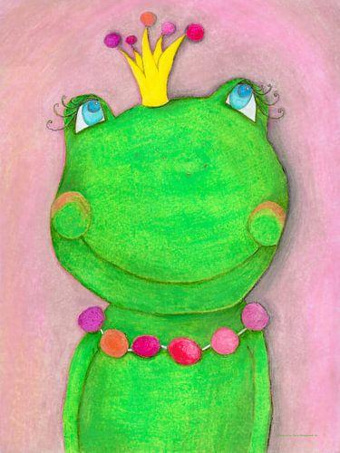 Kikkerkoning - Kunst voor Kinderen sur