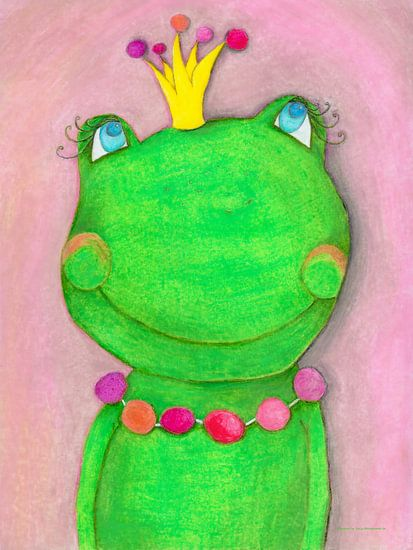 Froschkönigin von Atelier BuntePunkt