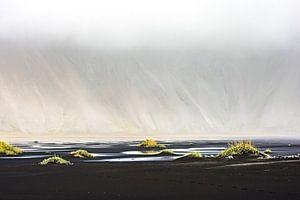 IJsland - Vestrahorn in de wolken