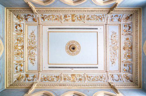 Plafond in Verlaten Paleis.