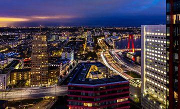 Maasboulevard Rotterdam van Midi010 Fotografie