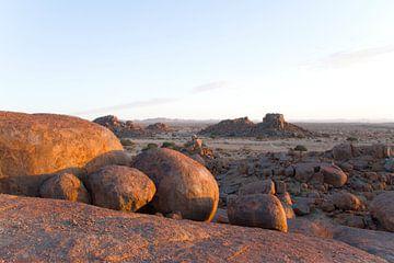 Namibië - Landschap van Liesbeth Govers voor omdewest.com
