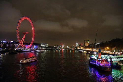 London Eye in Londen van