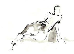 modeltekening van Desiree Meulemans