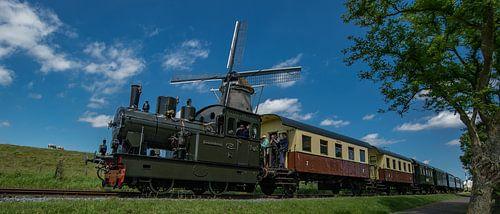 De Museumstoomtram Hoorn-Medemblik  van Hans Kool