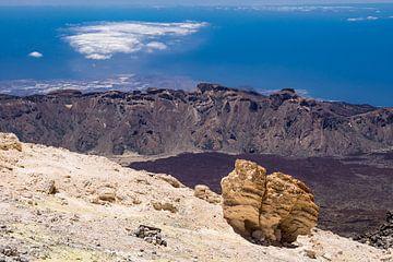Landscape on the canary island Tenerife van Rico Ködder