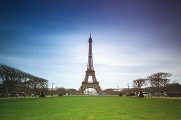 Eiffelturm Langzeitbelichtung von Dennis van de Water