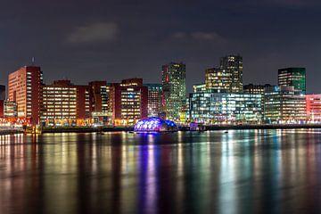 Skyline Rheinhafen Rotterdam von Jeroen Kleiberg