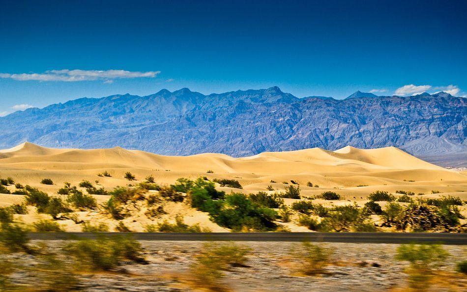 Mesquite Flat in Death Valley  van Ricardo Bouman | Fotografie