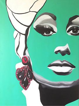 Sophia Loren van Helia Tayebi Art