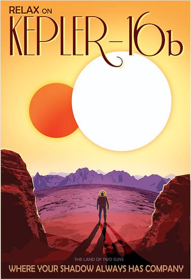Kepler-16b - Where your shadow always has company