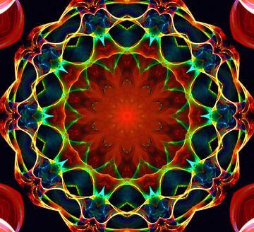 Mandala - Glückseligkeit van Doris Kroos