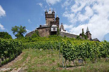 Reichsburg Cochem, Cochem an der Mosel, Mosel, Rheinland-Pfalz, Deutschland, Europa