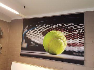 Kundenfoto: Tennisball von Gert Mostmans