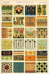 Owen Jones' berühmtes Werk Die Grammatik des Ornaments aus dem 19. Jahrhundert