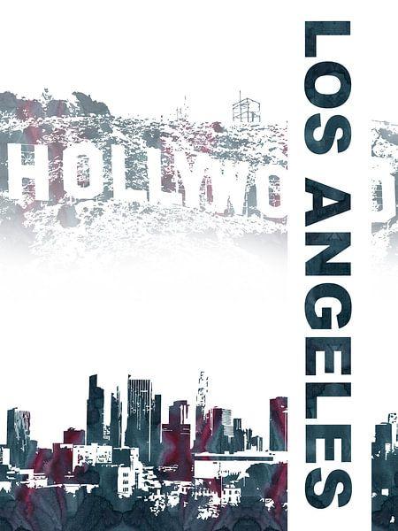 Los Angeles van Printed Artings