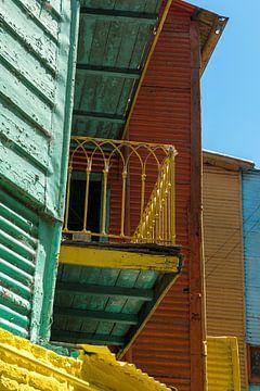 La Boca in Buenos Aires van Gerry van Roosmalen