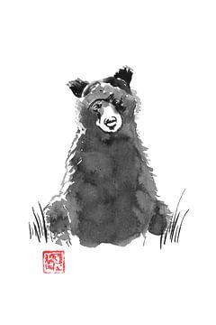 junger Bär von philippe imbert