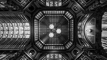 Plafond van Leadenhall Market van Rene Siebring