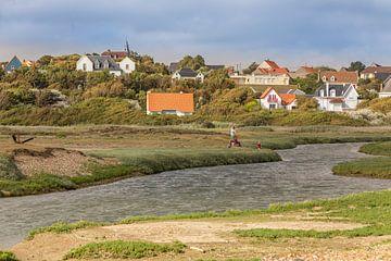 Ferienhäuser am Fluss La Slack in Ambeleteuse von Easycopters