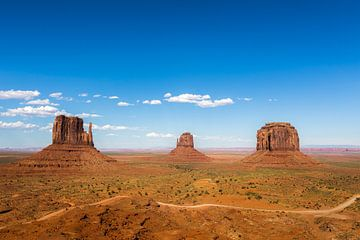 Uitzicht Monument Valley van Jeffrey Van Zandbeek