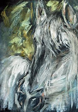 Das weiße Pferd. von Ineke de Rijk