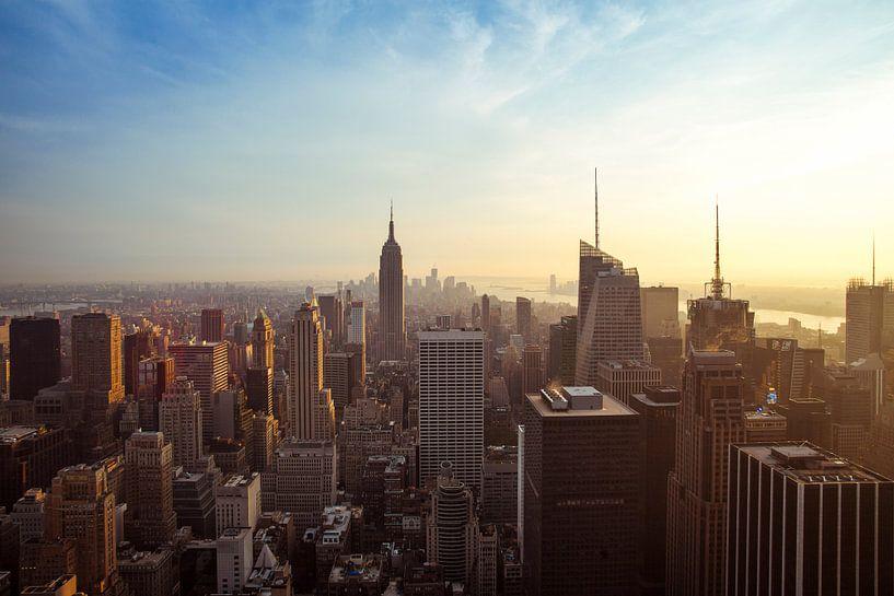 New York Panorama VII van Jesse Kraal
