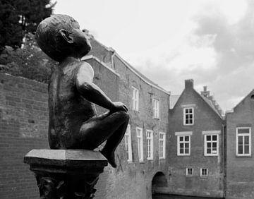 Statue Dieske sur Frank Smetsers