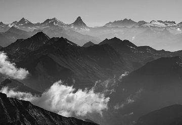Walliser Alpen von Menno Boermans