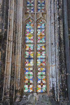 Glas in lood Mosteiro da Batalha klooster van My Footprints