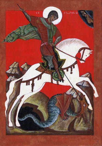 Sint-Joris en de draak von Sasha Butter-van Grootveld