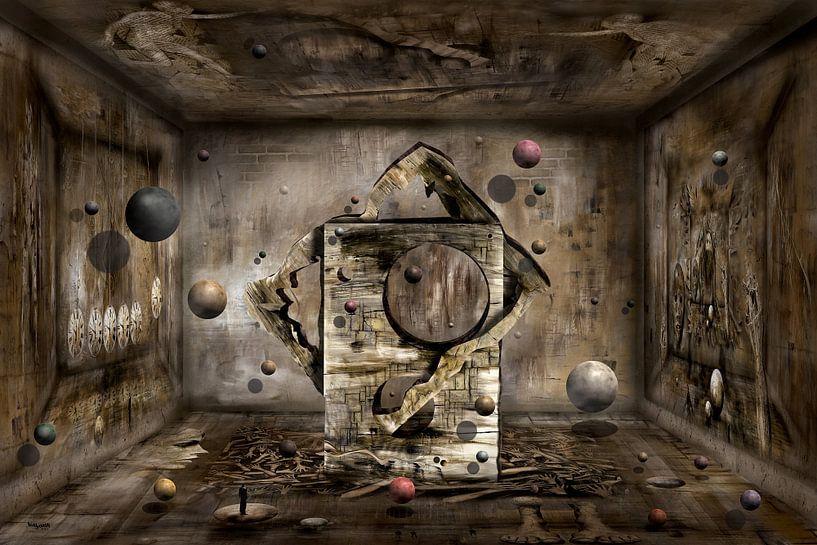 Moderner Raum mit Bällen von Stefan teddynash