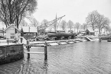 Schiffswerft Alter Hafen Rotterdam von Leon Okkenburg