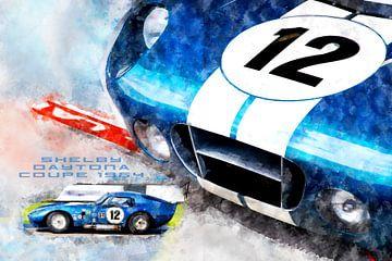 Shelby Daytona Coupe 1964 van Theodor Decker