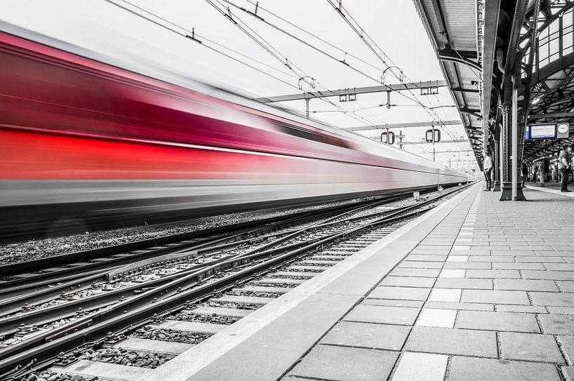 Treinstation 's-Hertogenbosch van Marga Meesters