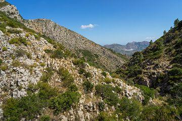Tussen de rotsen van Montepuro