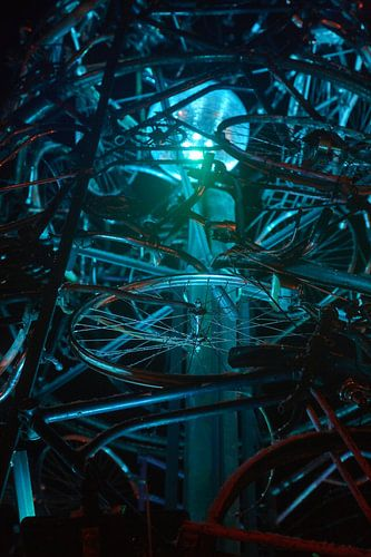 Urban, Bicycle sculpture III