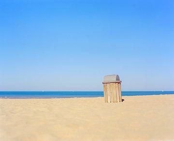 Vuilbak op het strand van Johan Vanbockryck