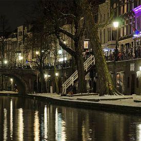 Oudegracht, Utrecht II von Pierre Timmermans