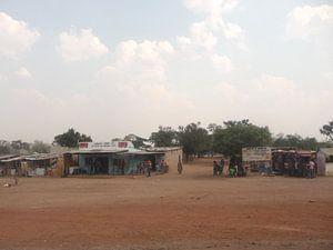 'Winkels langs de weg', Zambia