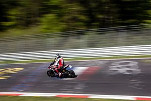 Nürburgring motorfiets van