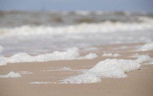 Schuim op het Strand - Egmond aan Zee van