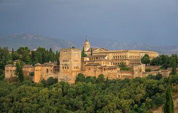 Blick auf die Alhambra in Granada von Reis Genie