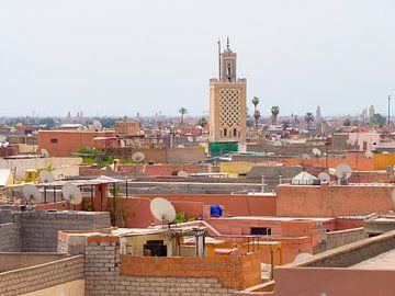 Daken van Marrakesh, Marokko | Reisfotografie Midden-Oosten van Teun Janssen