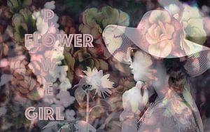 Flower Power Girl van Sran Vld Fotografie