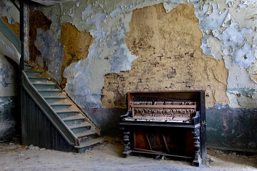 Altes Klavier, altes Klavier, von Chantal Golsteijn