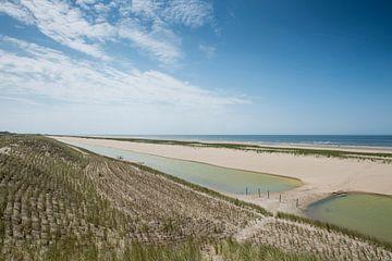 Camperduin befestigte Küste von Keesnan Dogger Fotografie