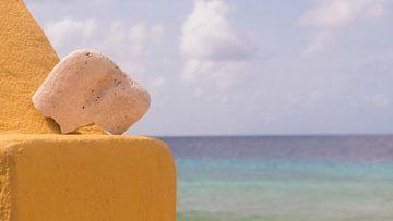 steen op slavenhuis van Ivana Luijten