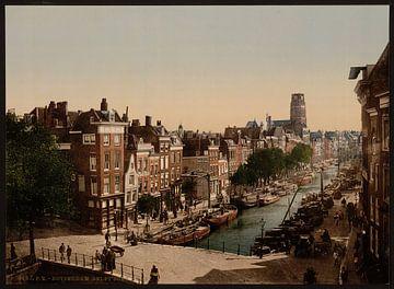 Delft Vaart, Rotterdam sur Vintage Afbeeldingen