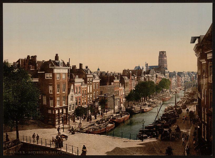 Delft Vaart, Rotterdam van Vintage Afbeeldingen